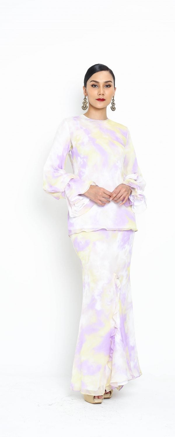 RAYA 2020 LURUNG LILY – LILAC / LIGHT YELLOW